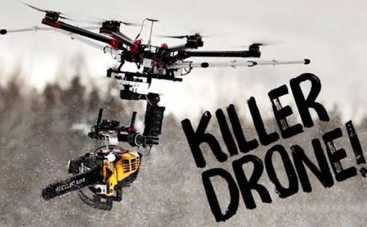 Финские фермеры натравили дрона-убийцу на снеговиков