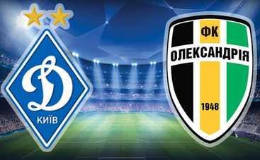 Динамо 0:1 Александрия – видео гола матча от 6.04.2016