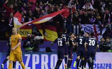 Лига Чемпионов. Атлетико - Барселона. Каталонцы - в пролете