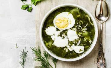 Рецепт идеального зеленого борща от Игоря Мисевича