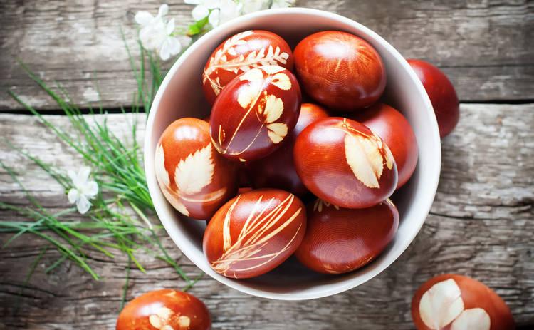 Пасха 2016: как безопасно красить яйца