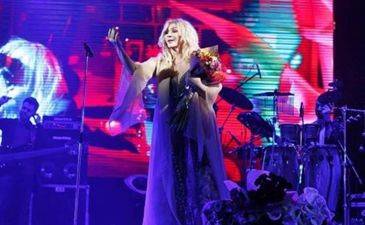 Ирина Билык после госпитализации дала концерт в тот же день