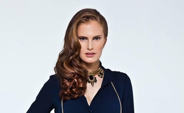 Супермодель по-украински 3: Алла Костромичева привела на съемки сына