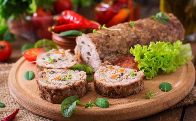 Пасха 2016: мясной рулет с грибами от Руслана Сеничкина