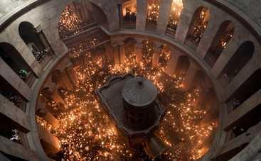 Схождение Благодатного огня в Иерусалиме: смотреть онлайн 30.04.2016