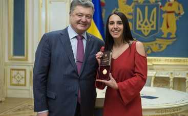Джамала удостоена звания Народной артистки Украины