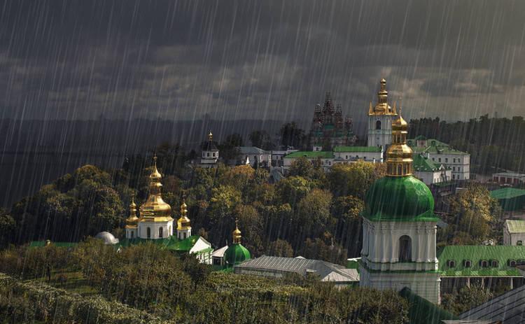 На Украину надвигается ураган с ливнями и градом