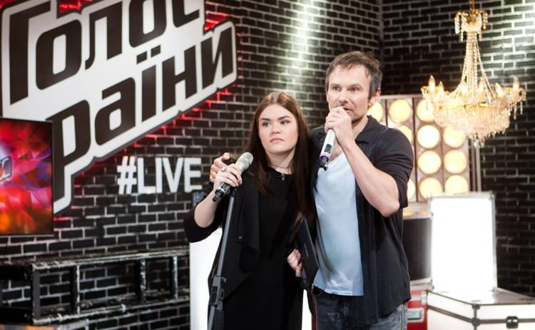 «Голос країни-6»: Святослав Вакарчук стал отцом для Виталины Мусиенко