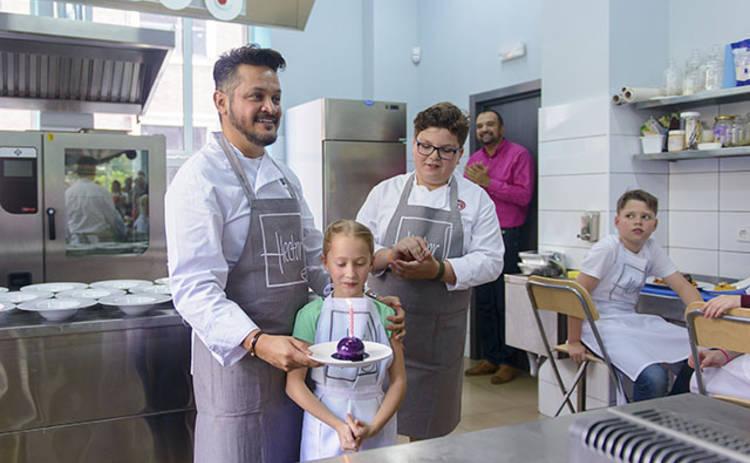 Победитель «МастерШеф. Дети» и Эктор Хименес-Браво провели мастер-класс (фото)
