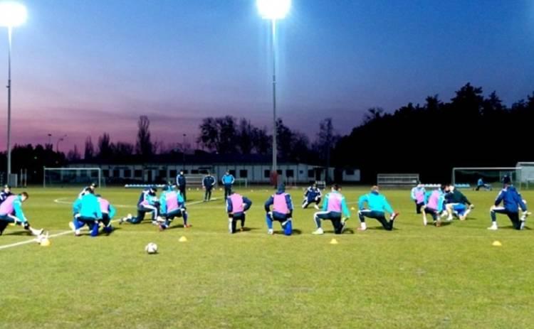 «Неземная» сила сорвала тренировку сборной Украины во Франции