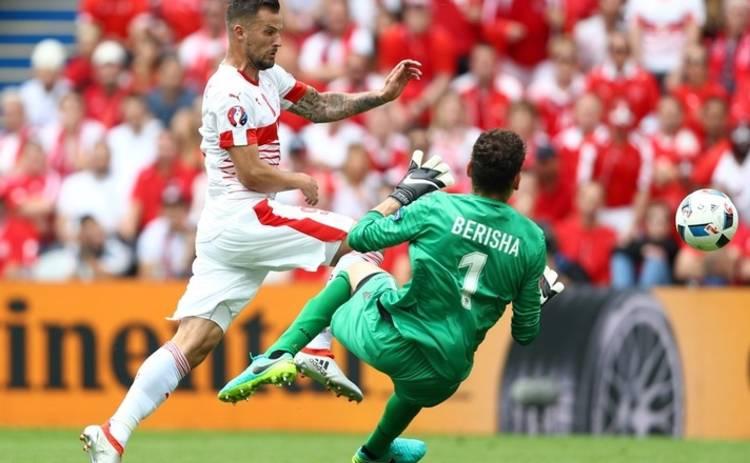 Евро-2016: Албания не устояла под натиском Швейцарии (видео)