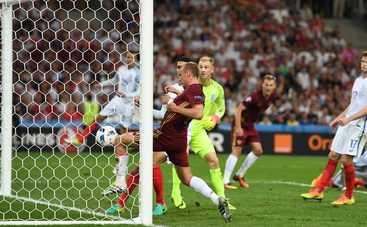 Евро-2016: В матче с Англией Россия еле унесла ноги (видео)