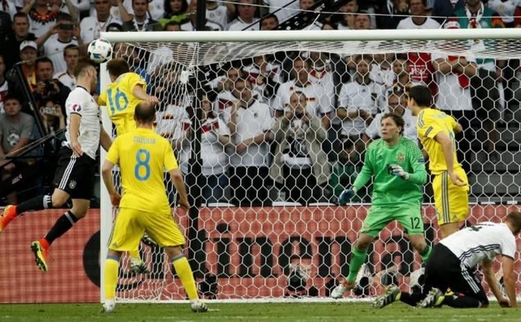 Евро-2016: Украина не устояла перед бундесмашиной (видео)