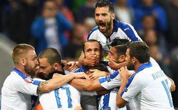 Евро-2016: Италия на классе бьет Бельгию (видео)