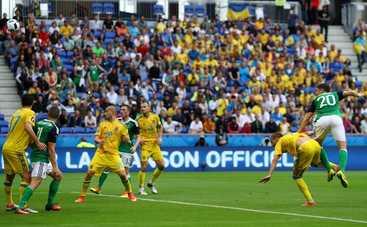 Евро-2016: Украина проиграла Северной Ирландии (видео)