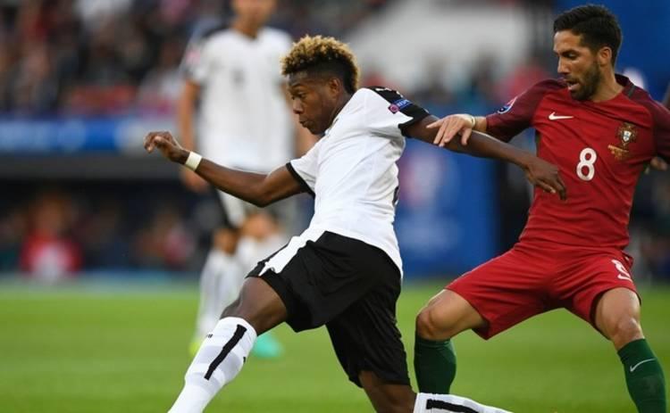 Евро-2016: Португалия и Австрия сильнейшего не выявили (видео)