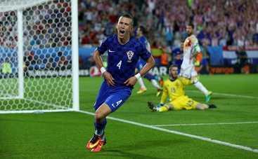 Евро-2016: Хорватия отправила Испанию на свидание с Италией (видео)