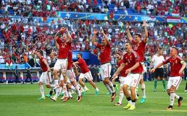 Венгрия сотворила сенсацию на Евро-2016 (видео)