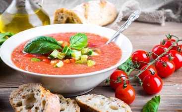 Рецепт гаспаччо и вяленых томатов от Евгения Клопотенко