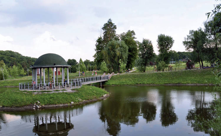 Променад по Киеву: сказочный парк «Феофания» (фото)