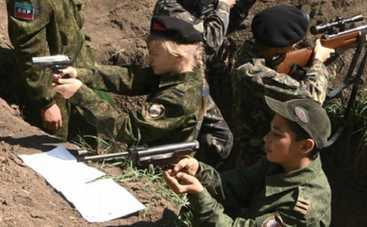 Боевики на Донбассе используют детей в качестве «живого щита»