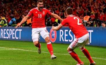 Уэльс бьет Бельгию и идет в полуфинал Евро-2016 (видео)