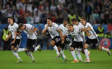 Евро-2016: Германия по пенальти выходит в полуфинал (видео)