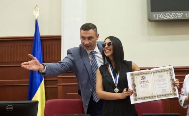 Джамала стала почетной киевлянкой (фото, видео)