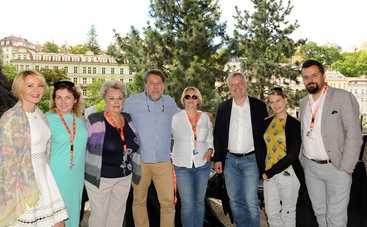 Украинская делегация в Карловых Варах провела радушный прием для кинематографистов