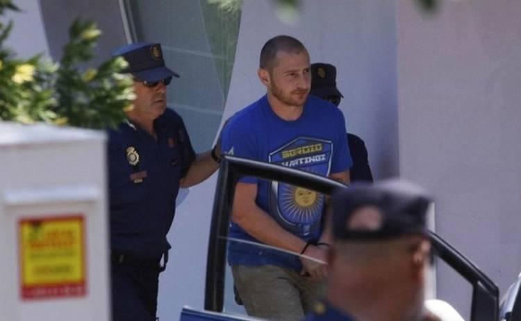 Опубликовано видео задержания сына Черновецкого в Испании