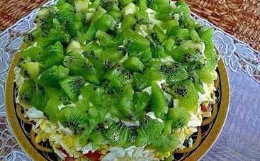 Салат «Изумрудная россыпь» (рецепт)