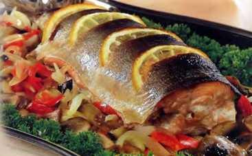 Рыба в фольге с овощами (рецепт)