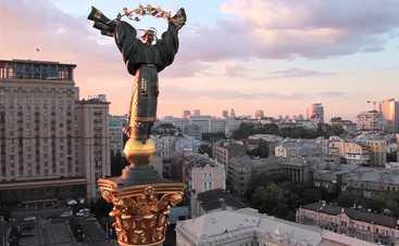 В центре Киева обрушился дом (фото)