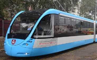 В Виннице презентовали трамвай будущего