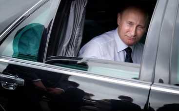 Автомобиль Путина попал в ДТП. Погиб водитель президента (фото, видео)