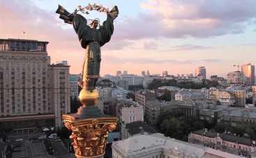 В Киеве произошло необычное для сентября явление (фото)