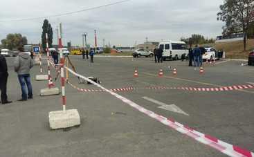 Расстрел полицейских в Днепре (видео с нагрудной камеры)