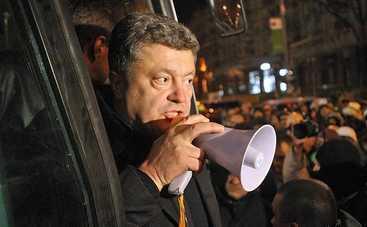 «Бульдозер Порошенко» разрушил часть ресторана в Киеве (фото)
