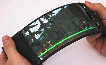 Производители решили создать гибкий смартфон (видео)