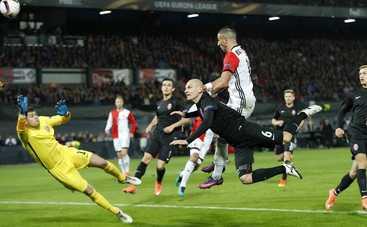 Лига Европы: «Заря» не устояла под натиском «Фейеноорда»
