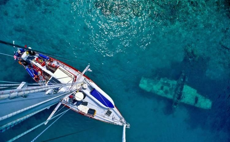 В Тихом океане нашли подводное кладбище самолетов (фото)