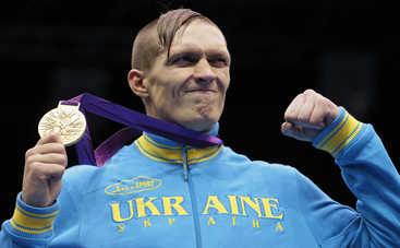Александр Усик признан боксером года