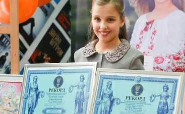 Юная украинка попала в Книгу рекордов (видео)