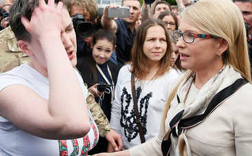 Савченко осмелилась ослушаться Тимошенко