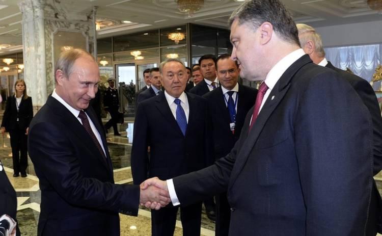 Путин обещает не трогать бизнес Порошенко