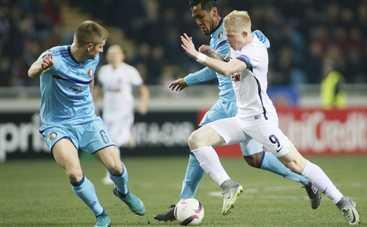 Лига Европы: «Заря» не смогла обыграть «Фейеноорд» (видео)