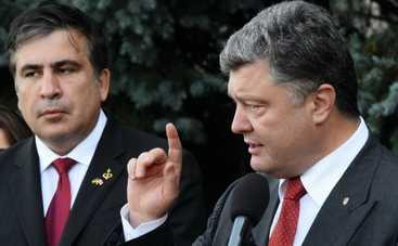 Саакашвили рассказал, как Порошенко уговаривал его остаться