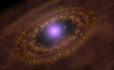 Астрономы открыли сразу три молодые звезды