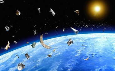 Космический мусор угрожает человечеству