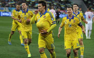 Украина сохранила позиции в рейтинге ФИФА